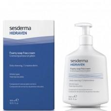 Sesderma HIDRAVEN Foamy Soap Free Cream - Крем-Пенка для Умывания 300мл