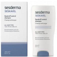 Sesderma SESKAVEL CONTROL Anti-dandruff Shampoo / Dry Scalp - Шампунь от СУХОЙ перхоти 200мл