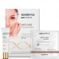Sesderma SESMEDICAL Personal Peel Program ANTI-AGE - Антивозрастная программа 4 салф.+15мл