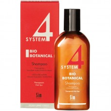 Sim SENSITIVE SYSTEM 4 BIO BOTANICAL Shampoo - Биоботанический шампунь 215мл