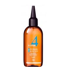 Sim SENSITIVE SYSTEM 4 Climbazole Scalp Tonic T - Тоник «Т» для всех типов волос 100мл