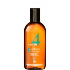 Sim SENSITIVE SYSTEM 4 Climbazole Shampoo 1 - Шампунь №1 для нормальной и жирной кожи головы 100мл