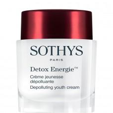 SOTHYS Detox Energie™ Depolluting youth cream - Омолаживающий энергонасыщающий детокс-крем для лица 50мл