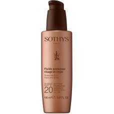 SOTHYS SUN CARE Protective fluid face and body SPF20 - Молочко для лица и тела СЗФ20, 150мл