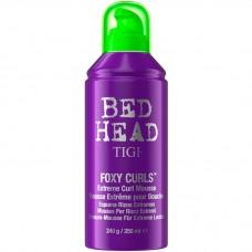 TIGI Bed Head Foxy Curls Extreme Curl Mousse - Мусс для создания эффекта вьющихся волос 250мл